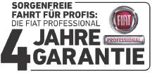 4 Jahre Garantie Fiat Professional