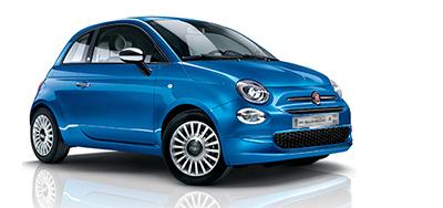 Autohaus Renck-Weindel - Fiat 500 blau