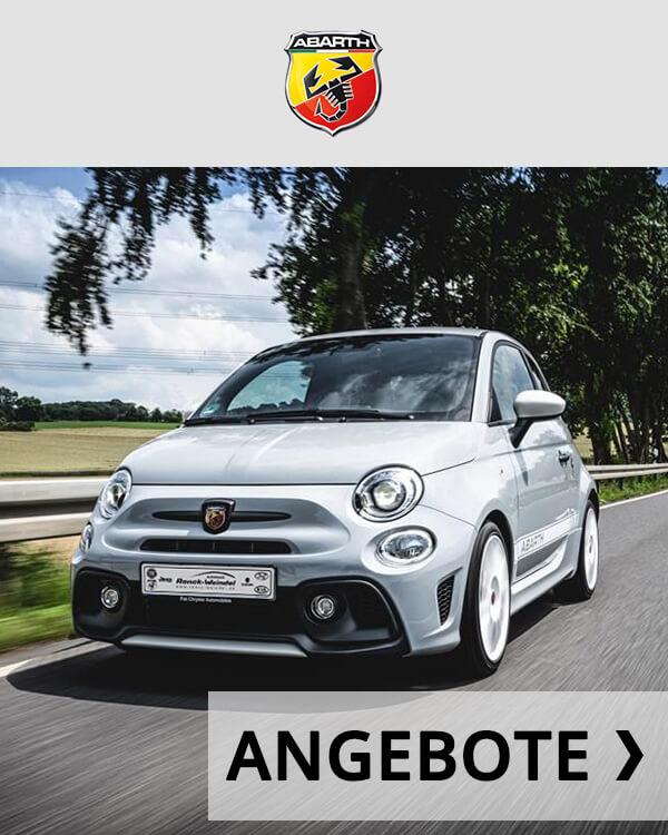 Autohaus Renck-Weindel - Abarth 595 Silber Angebote Logo