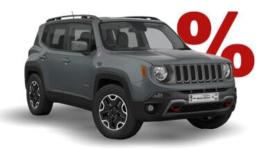Autohaus Renck-Weindel - Jeep Renegade Grau