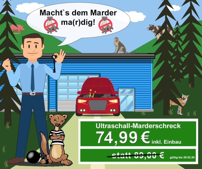 Autohaus Renck-Weindel - Macht's dem Marder ma(r)dig