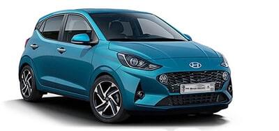Hyundai i10 hellblau - Autohaus Renck-Weindel