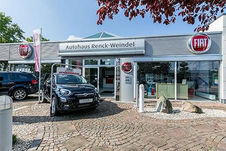 Außenansicht Filiale Ludwigshafen - Autohaus Renck-Weindel