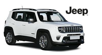 Jeep Renegade 4xe Plugin Hybrid weiß - Autohaus Renck-Weindel