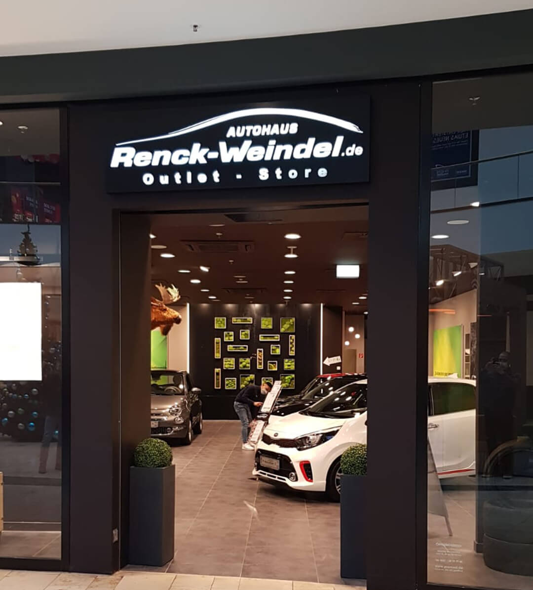 Eingang - Renck-Weindel Outlet-Store