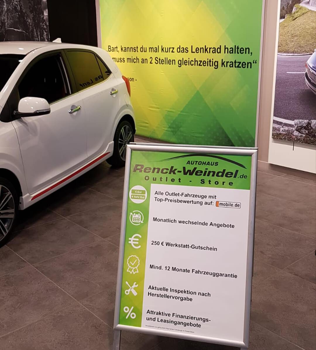 Unsere Gebrauchtwagen Versprechen - Renck-Weindel Outlet-Store
