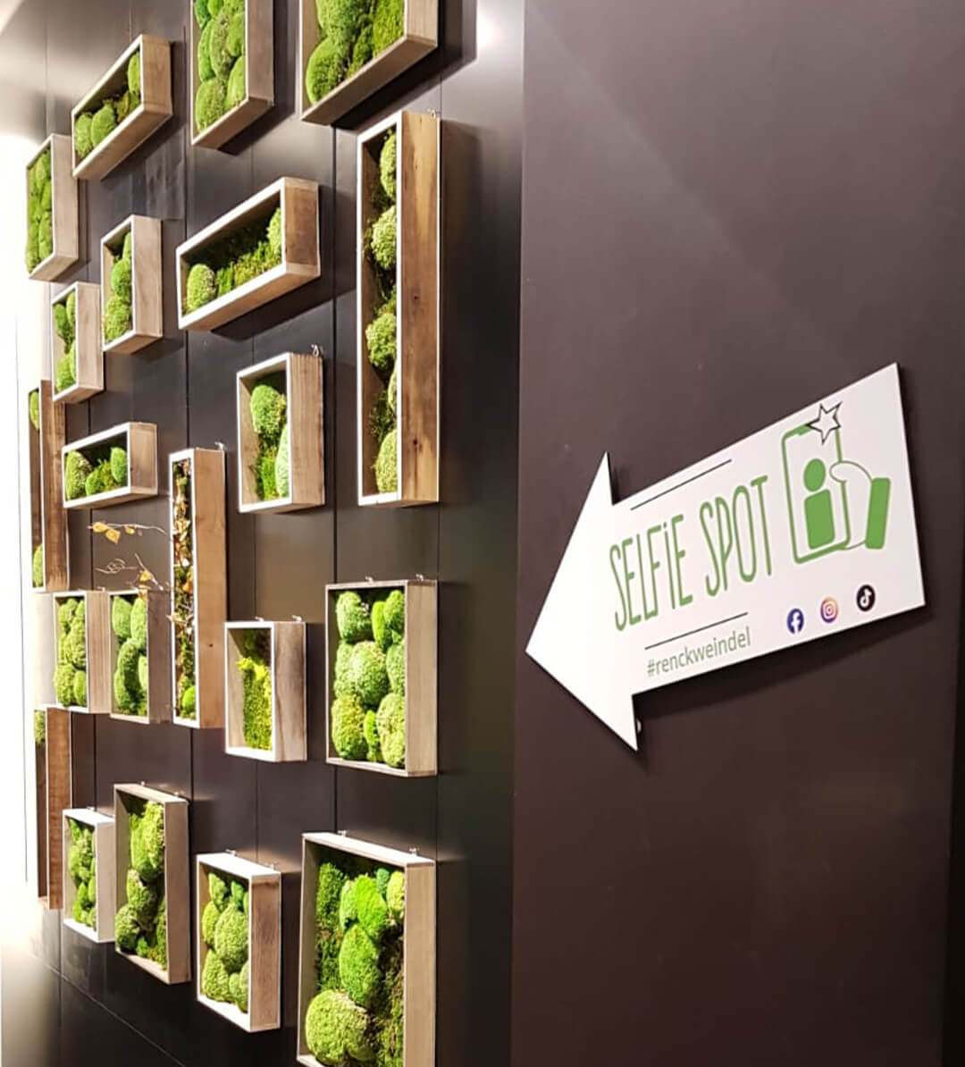 Selfie Wall - Renck-Weindel Outlet-Store