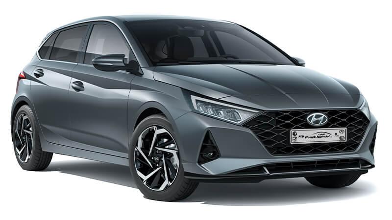 Hyundai i20 grau - Autohaus Renck-Weindel