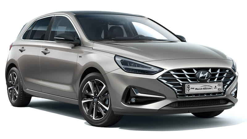 Hyundai i30 grau - Autohaus Renck-Weindel