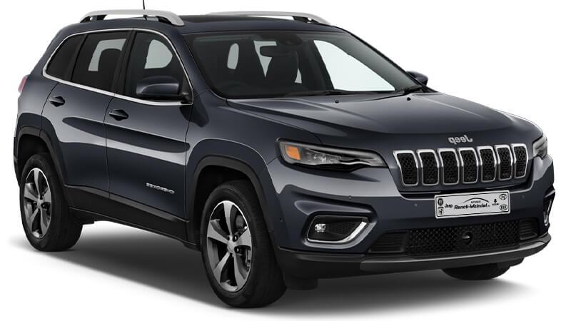 Jeep Cherokee Kennzeichen neu