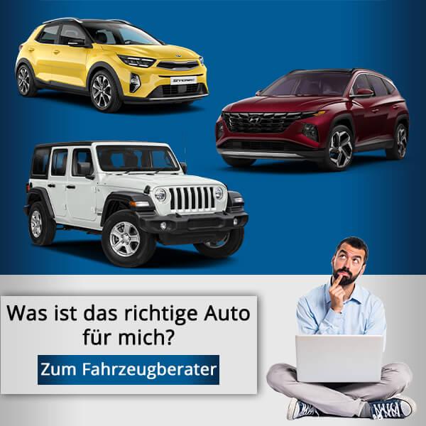 Was ist das richtige Auto für mich, zum Fahrzeugberater - Autohaus Renck-Weindel
