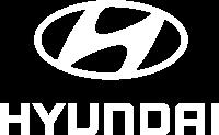 Hyundai Logo vertikal weiss mini